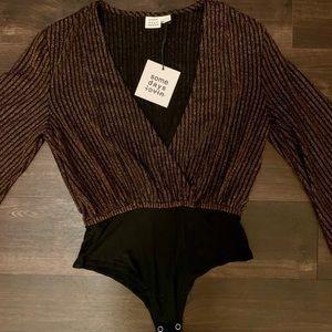 Somedays Lovin Other - SOME DAYS LOVIN' striped sparkle bodysuit